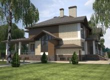 3D модель 2 - Проект дома 29+