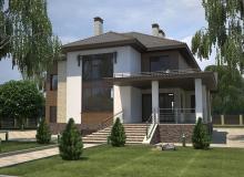 3D модель 3 - Проект дома 29+