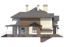 Фасад 1 - Проект дома 29+