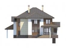 Фасад 3 - Проект дома 29+