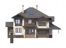 Фасад 4 - Проект дома 29+