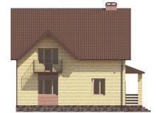 Фасад 4 - Проект дома 3+