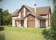 3D модель 2 - Проект дома 30+