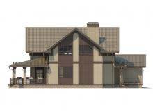 Фасад 1 - Проект дома 30+