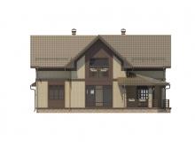 Фасад 2 - Проект дома 30+