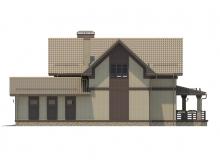 Фасад 3 - Проект дома 30+