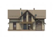 Фасад 4 - Проект дома 30+