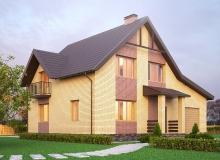 3D модель 3 - Проект дома 4+