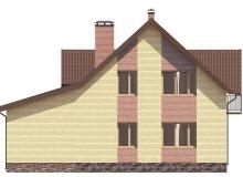 Фасад 3 - Проект дома 4+