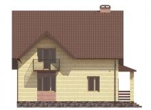 Фасад 4 - Проект дома 4+
