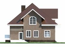 Фасад 1 - Проект дома 5+