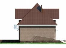 Фасад 4 - Проект дома 5+