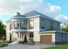3D модель 2 - Проект дома 6+