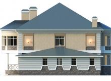 Фасад 1 - Проект дома 6+