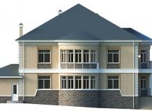Фасад 2 - Проект дома 6+