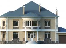 Фасад 4 - Проект дома 6+