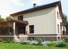 3D модель 2 - Проект дома 7+