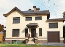 3D модель 4 - Проект дома 7+