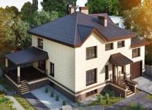 3D модель 5 - Проект дома 7+