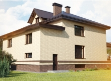 3D модель 6 - Проект дома 7+
