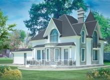 3D модель 3 - Проект дома 8+