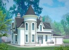 3D модель 4 - Проект дома 8+