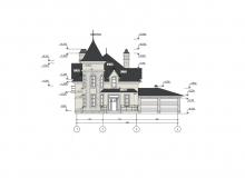 Фасад 1 - Проект дома 8+