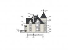 Фасад 3 - Проект дома 8+