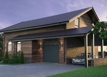 3D модель 2 - Проект дома 9+