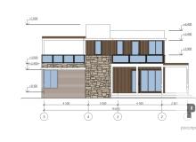 Фасад 2 - проект дома РосПроект 1