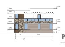Фасад 3 - проект дома РосПроект 1