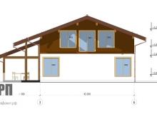 Фасад 2 - проект дома РосПроект 2
