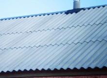 Крыша из шифера