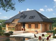 Четырехскатная или вальмовая крыша