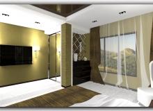 Вторая спальня в коттедже