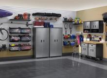 Аккуратный интерьер гаража