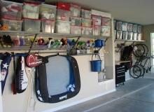 Еще один способ внутреннего оформления гаража
