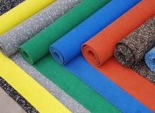 Цветовая гамма резинового пола