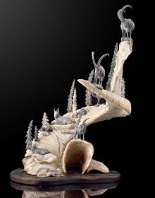 Скульптура из кости мамонта