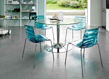Кухонный стеклянный мебельный набор