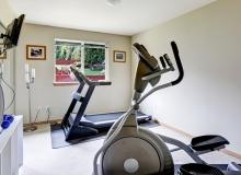 Небольшая спортивная комната