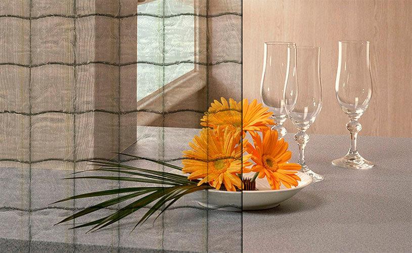 Применение стекла в дизайне