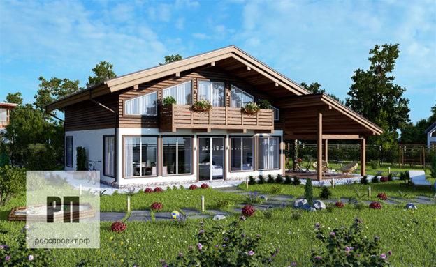 Проекты домов от РосПроект
